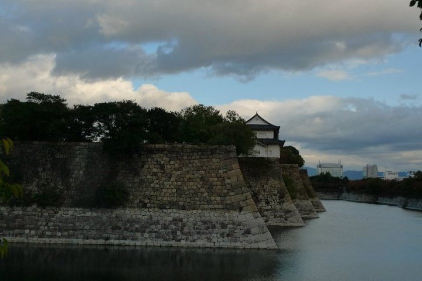 Moat at Osaka Castle