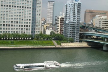 Sumida River sightseeing