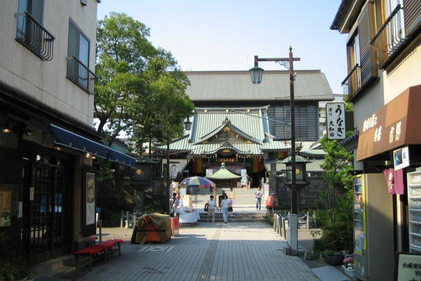 Shita-machi scene