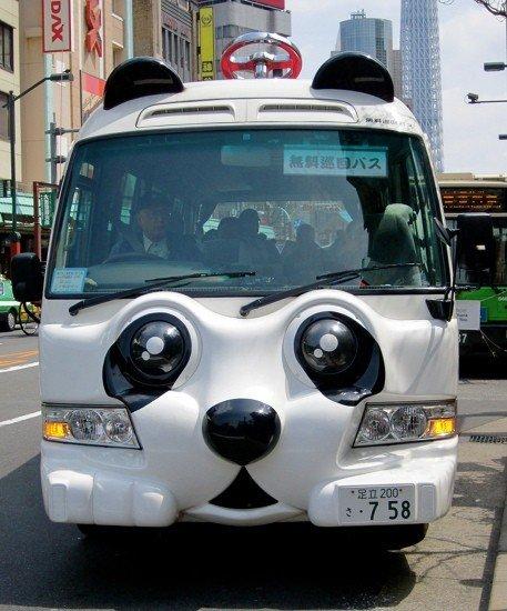 <p>Nin Nin รถบัสแพนด้า &quot; Free Shuttle Bus&quot;&nbsp;ให้บริการวิ่งรอบอาซากุสะฟรี</p>