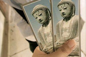 ซื้อบัตรเข้าเยี่ยมชมราคา 190 เยน บัตรสวยเก็บไว้เป็นที่ระลึกได้