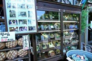 ร้านนี้แหละที่คนต่อคิวกันเยอะๆ เลยซื้อขนมในรูปมากิน (มุมล่างซ้าย) กินตอนร้อนๆอร่อยดีคุ้มกับเวลารอต่อคิว