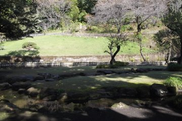 <p>The Kyokusui&nbsp;garden, where the poetry contest is held</p>