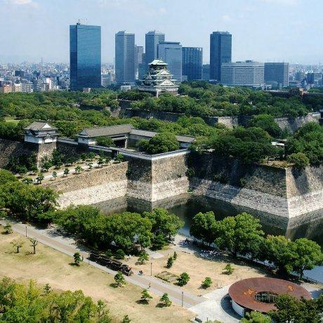 Parque del castillo de Osaka