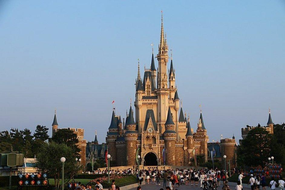 Tokyo Disneyland's Cinderella's castle