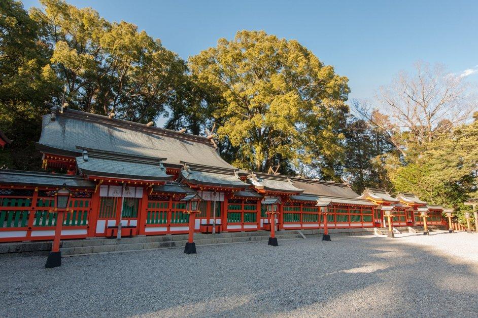 Kumano Hayatama Taisha in Wakayama