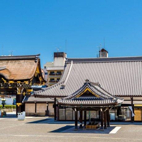 Nishi Honganji Tempel