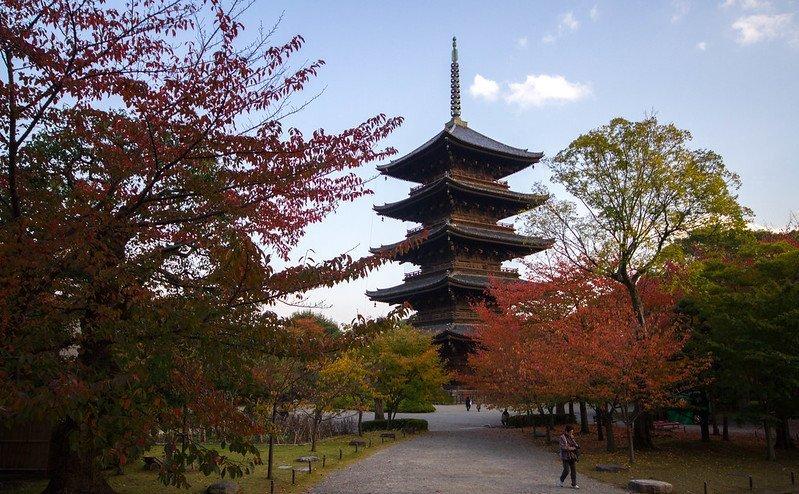 Toji Temple Pagoda