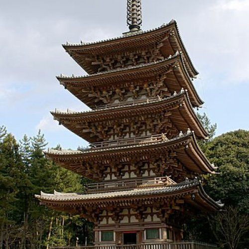 Goju-no-to (five-storied pagoda)