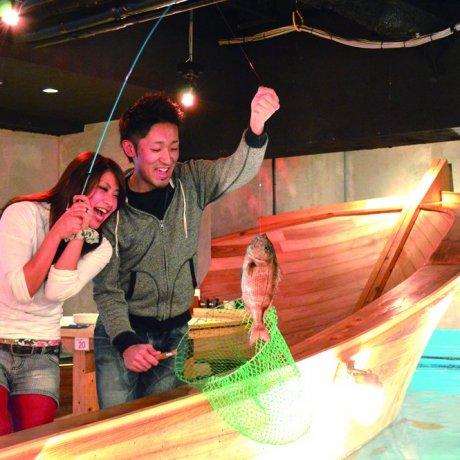 Restaurante de pesca Zauo Meguro