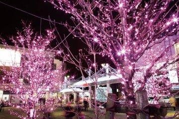 Plaza de la estación de Nishi-koyama