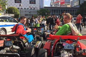 MariCAR - Ride a street-go-kart in Tokyo and Osaka