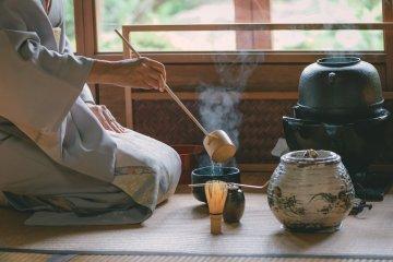 Kyoto: Tea Ceremony Camellia GARDEN (Private)